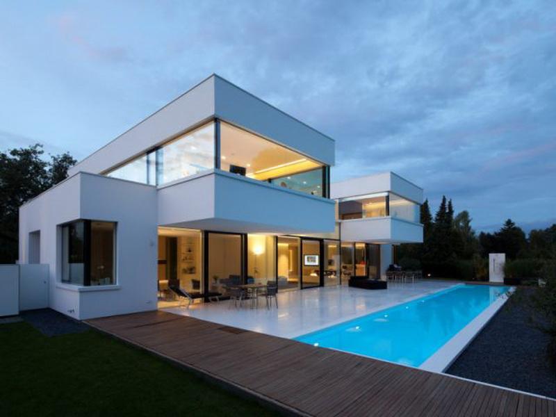 Beautiful Maison Cube Toit Gallery  Amazing House Design